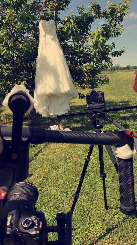 cadreur mariage robe mariée