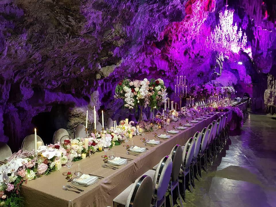 la grotte mariage