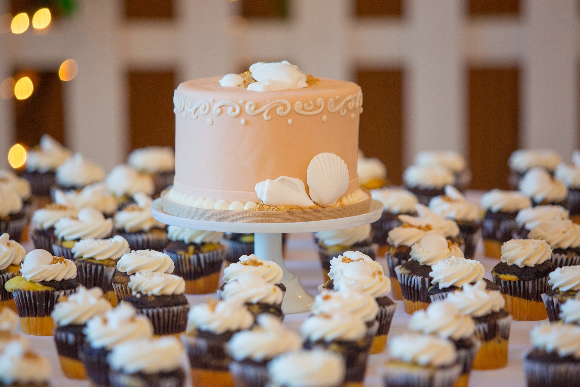 wedding cake catering traiteur - blog Souriez rose
