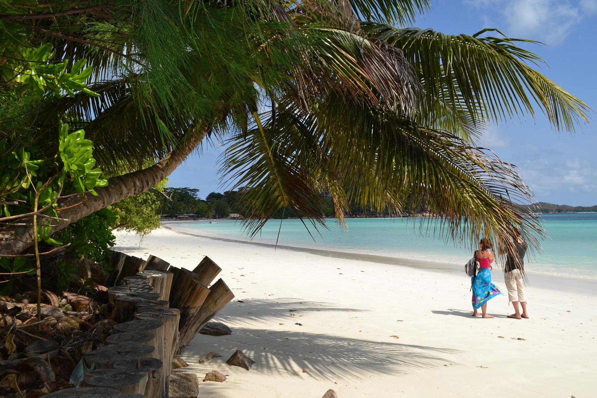 lune de miel Seychelles blog souriez rose