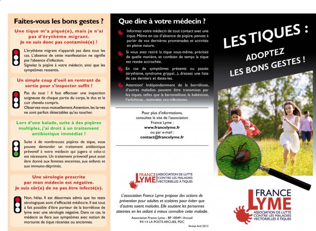 tiques France Lyme
