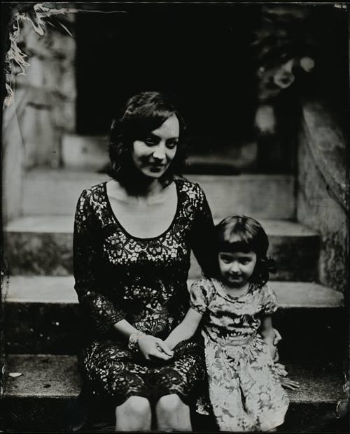 photographeuses portrait mère et sa fille