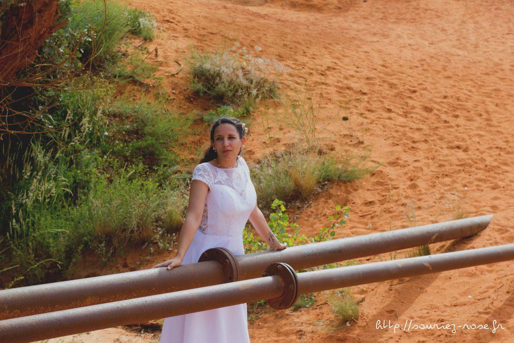 mariée colorado provencal blog souriez rose