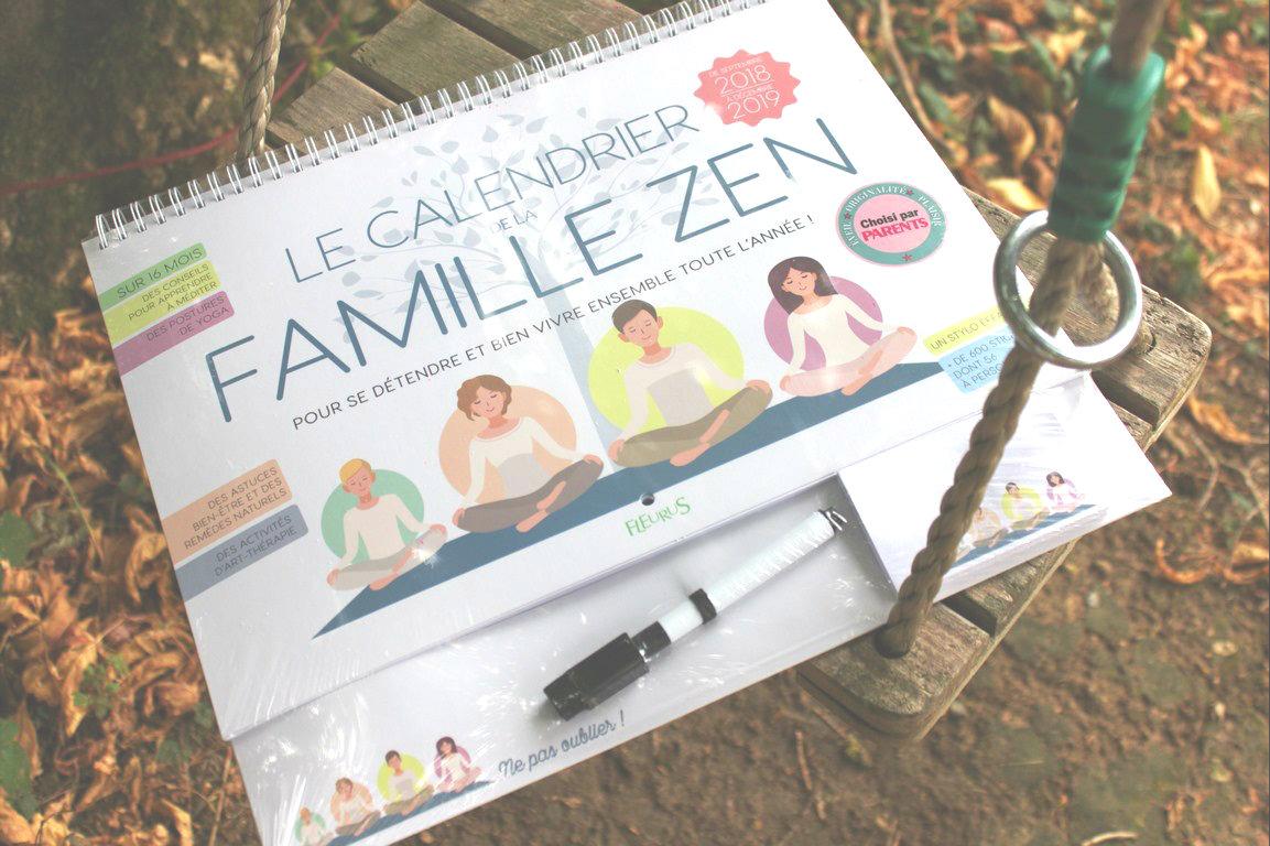 calendrier zen famille blog souriez rose