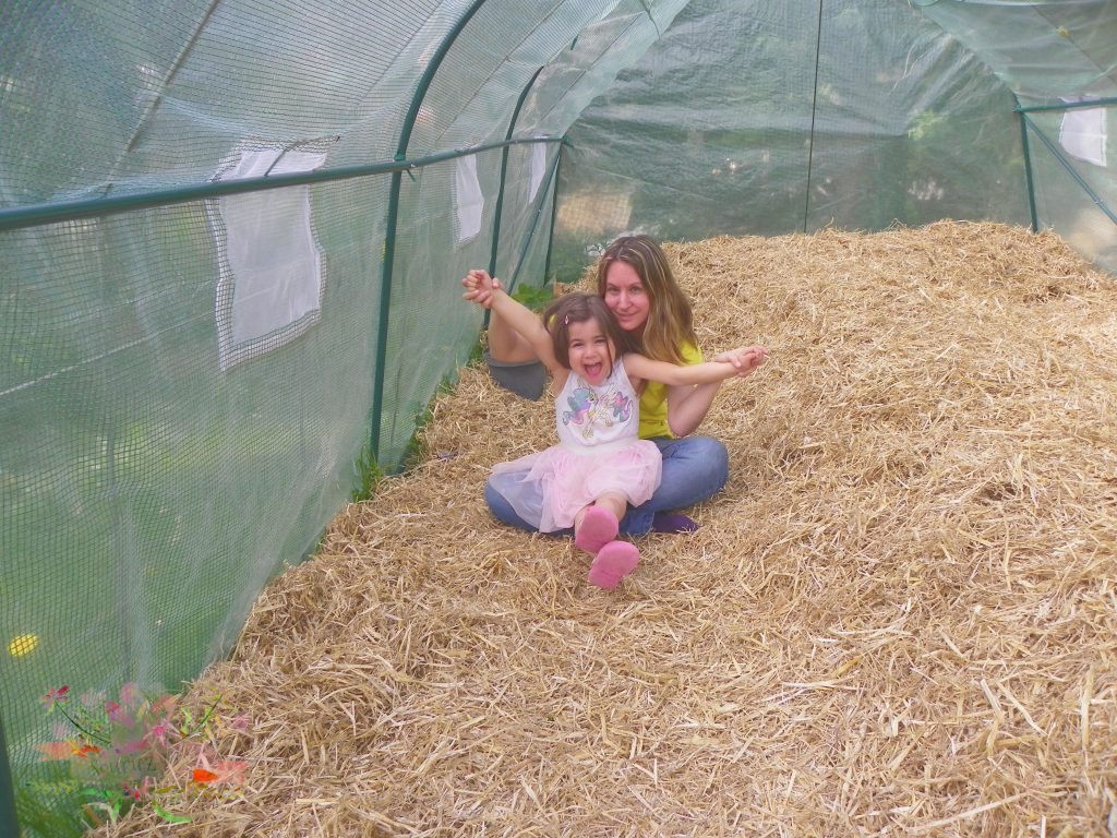 permaculture fin buttes blog Souriez rose