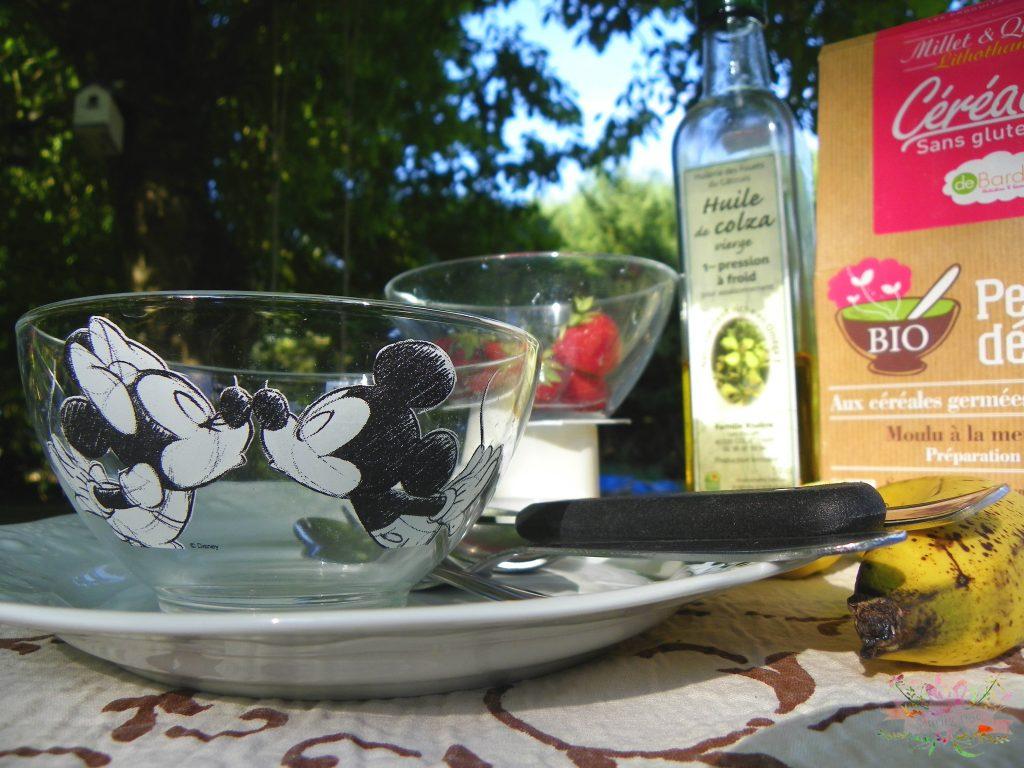 Petit déjeuner santé crème Budwig blog Souriez rose