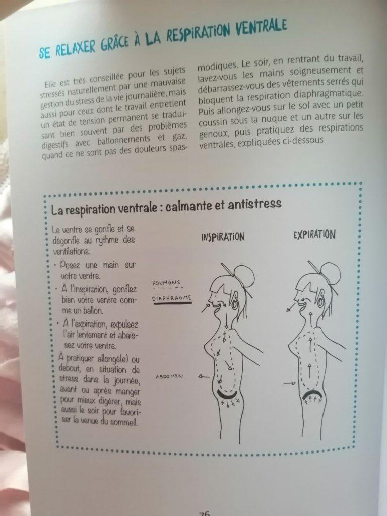 respiration ventrale ou abdominale Souriez rose naturopathie