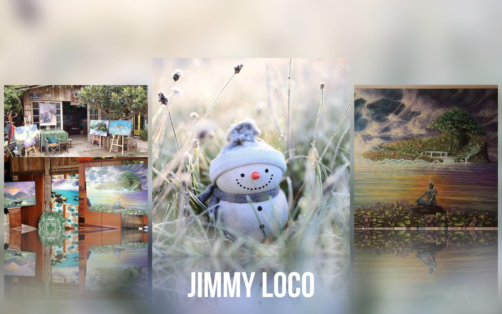 Jimmy Loco marché de noël virtuel de Souriez rose