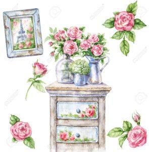 Souriez rose brocanterie shabby chic et boutique nature romantique