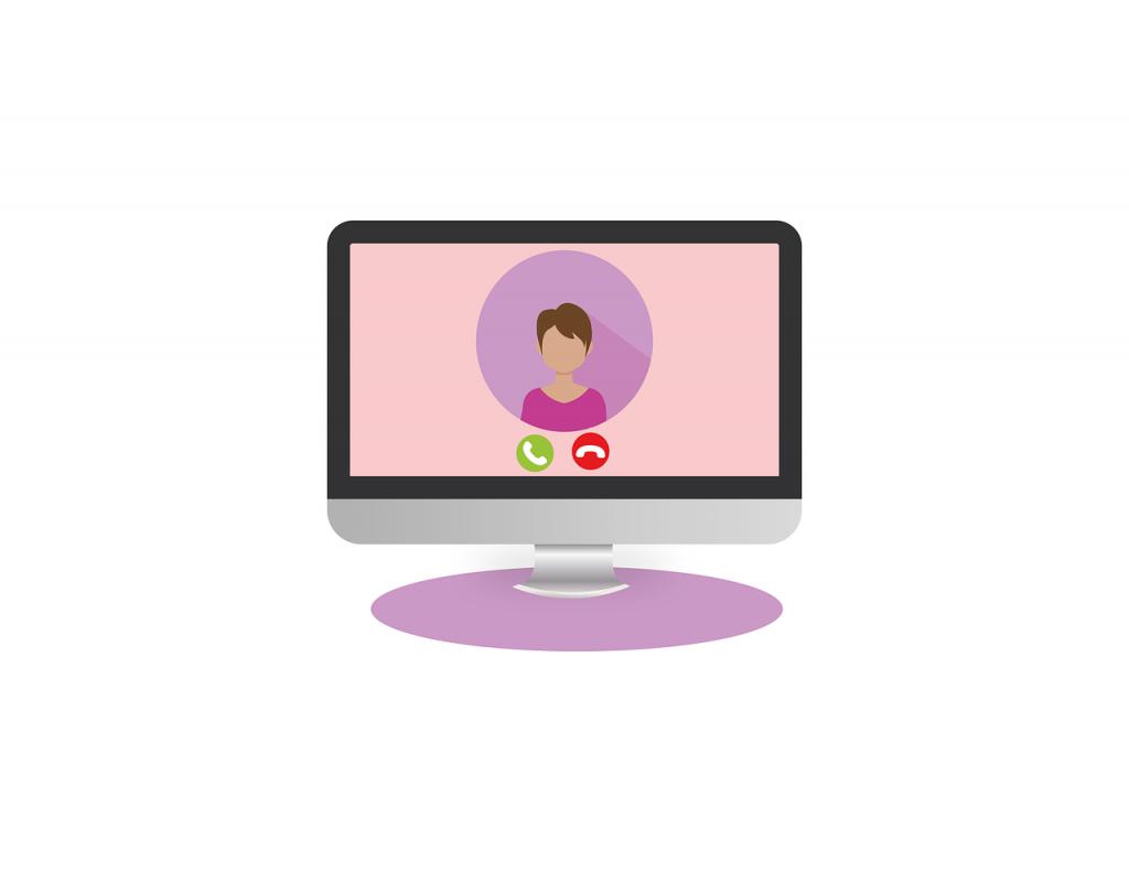appel vidéo consultation à distance Souriez rose naturopathie