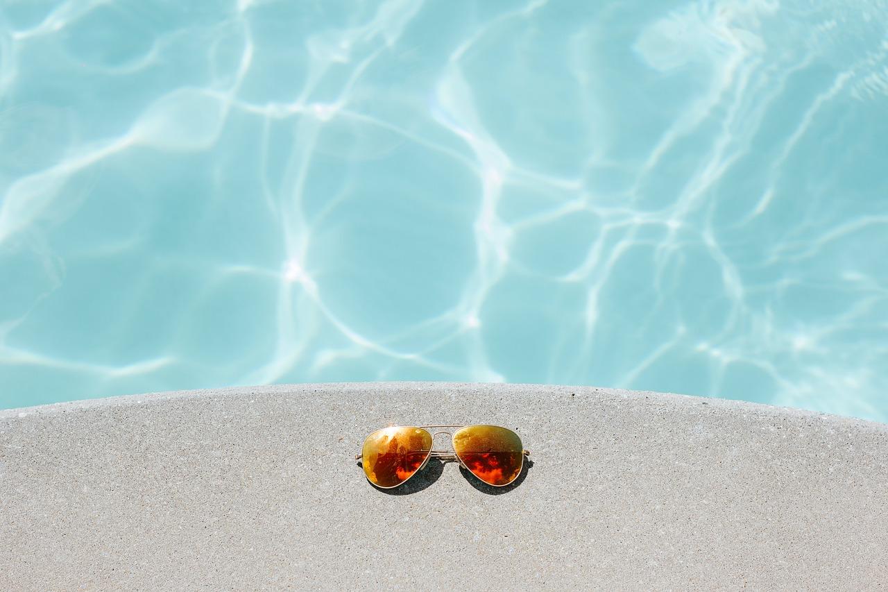 soleil et baignade blog Souriez rose