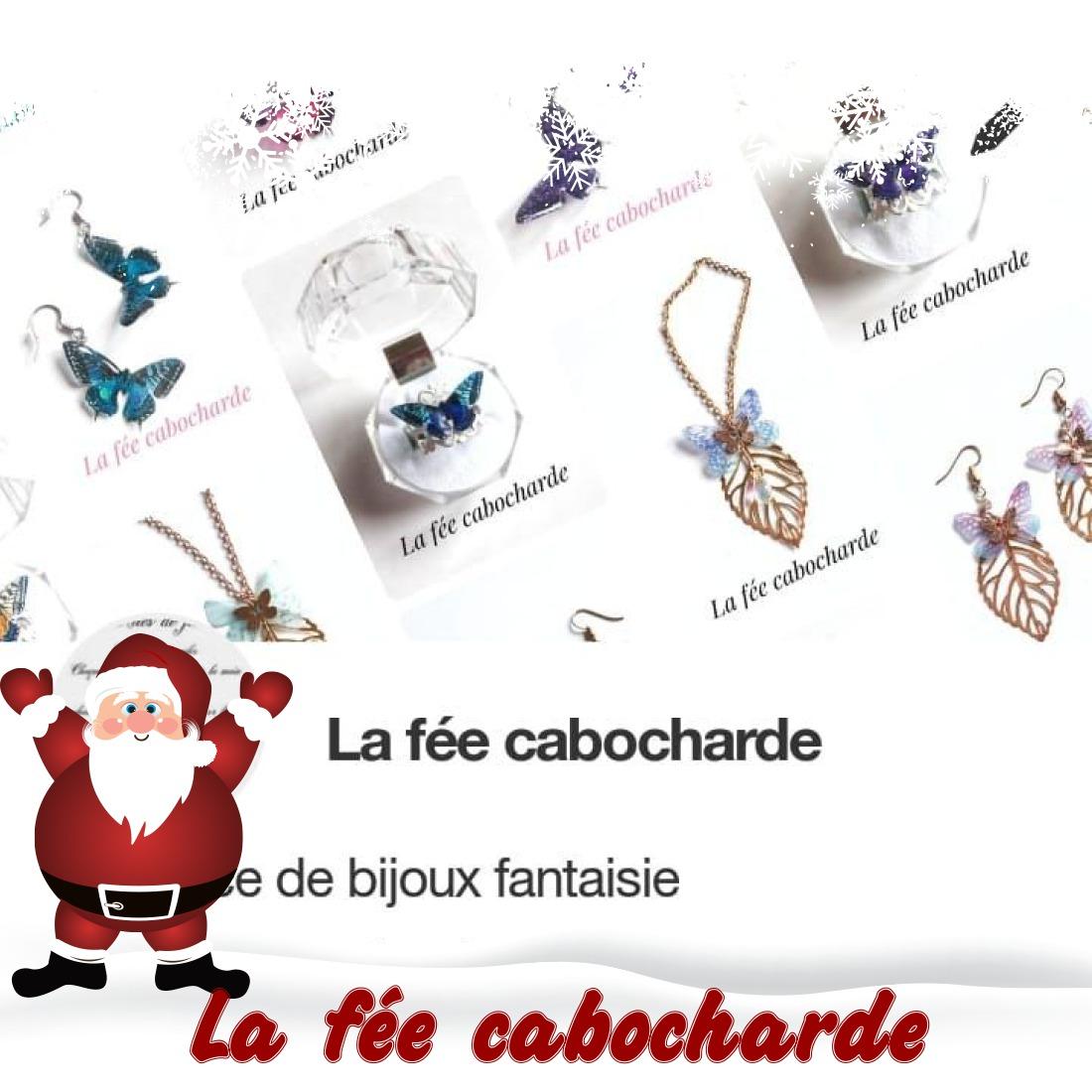 Marché de Noël virtuel blog Souriez rose La fée cabocharde