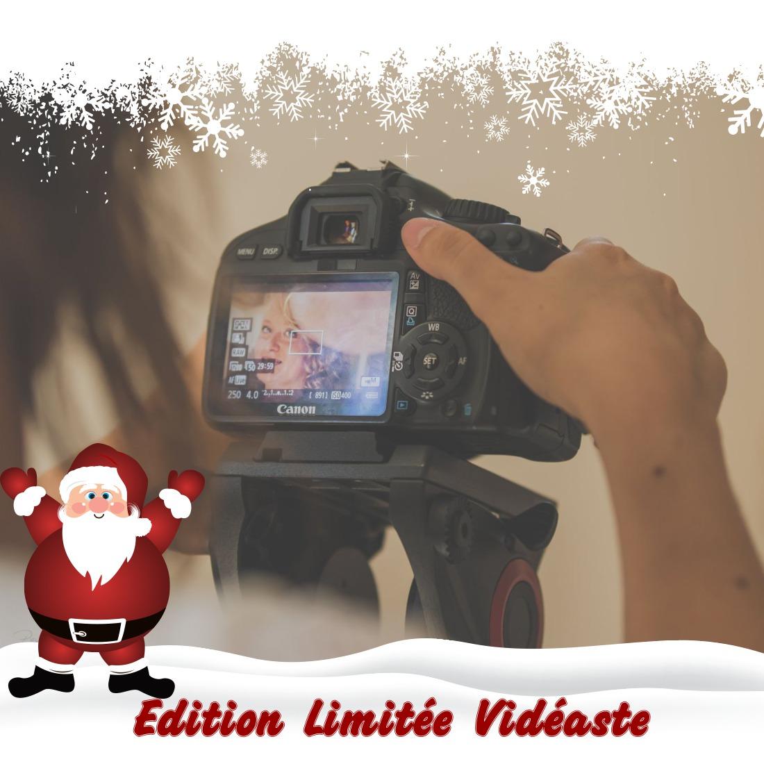 Marché de Noël virtuel blog Souriez rose Edition Limitée Vidéaste