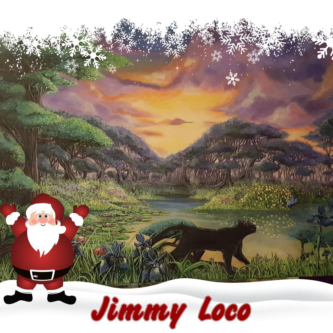 Artiste peintre Jimmy Loco marché de noël blog Souriez rose