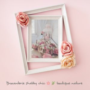 brocanterie shabby chic et boutique nature Souriez rose