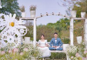 Mariage Zen avec les conseils de Pronupsims et Souriez rose